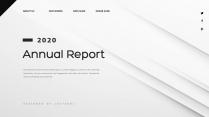 【创意几何】高端商务报告工作计划商务汇报模板