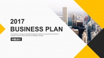 【双配色】高端大气公司企业商业项目工作实用PPT