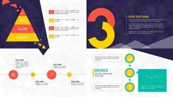 超实用大气简约可视化商务报告6示例6