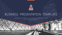高端商务系列14:欧美扁平化精致实用商务PPT模板