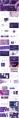 【渐变】抽象炫彩立体形状ppt模板示例3