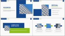 【两种配色】科技互联网企业公司工作总结PPT模板示例4