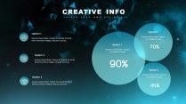 【現代科技】創意多排版現代商務匯報總結報告模板示例6