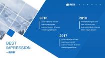 領航藍色(三十)工作報告模板【201】示例6