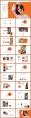 視覺化時尚女性雜志風PPT模板示例3