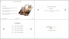 【动态】2016年终总结『黑黄•简约』商务模板4