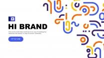 多彩几何公司企业品牌宣传工作PPT