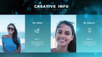 【現代科技】創意多排版現代商務匯報總結報告模板示例3