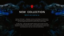 【蓝色幻影】高端简洁时尚几何商务报告模板示例3
