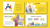 多彩快乐de童年  儿童画册/相册/教育宣传册示例3