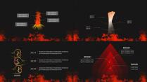 【动态】激情火焰汇报类模板-双配色示例3