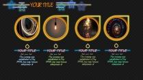 【动态创意】可爱发光霓虹灯光时尚好看风格短模版示例5
