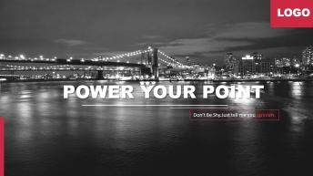 2015黑红灰高端大气网页式企业商务汇报ppt模板