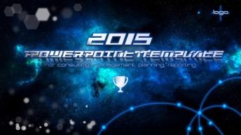 【动态 大气 商务】年终晚会颁奖盛典商务星空科技6