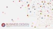 大气极简点线创意商务模板第十二弹