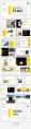 【简约商务】黄色欧美工作汇报杂志风PPT模板示例5