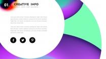 创意抽象高品质总结报告商务汇报可视化多用途模板3示例3