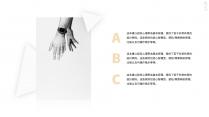 【OMK 5】三角形极简主义优雅时尚模板示例4