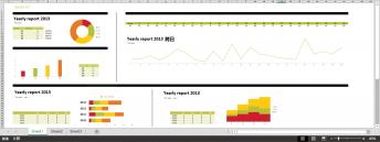 超实用年终总结/商务报告图表1(赠Excel图表)示例6