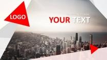 高端大气欧美商务风73——图文混排总结策划汇报通用