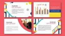 多彩快乐de童年  儿童画册/相册/教育宣传册示例5