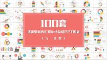 100套清爽型商务汇报年终总结PPT图表02