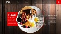 餐饮美食企业PPT模板