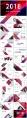 【几何艺术】大气蓝紫年终总结新年计划商务汇报模板示例3