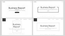 【耀你好看】欧美风极简黑白商务PPT合集(含4套)示例2
