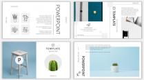 (设计感)小清新商务时尚汇报PPT模板6示例5