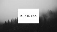 【静态】【黑白·大气时尚潮流欧美】实用商务模板27