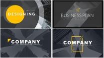 【完整框架】现代商业计划书策划书模板模【含四套】