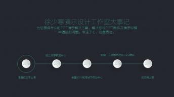 宅寂系列42:轻奢风双色科技互联网+路演推介发布会示例6