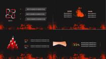 【动态】激情火焰汇报类模板-双配色示例4
