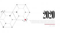 【商务】红黑大气极简工作通用模板06