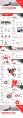 【四套合集】红色沉稳大气总结汇报通用模板(附教程)示例5