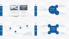 【精致动画】微粒体、简素、小清新模板(四种配色)示例3