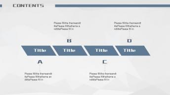 大气商务简约工作总结汇报(4种配色方案)示例6