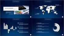 大气极简点线创意商务模板第十七弹示例7