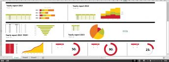 超实用年终总结/商务报告图表1(赠Excel图表)示例7