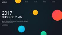 【耀你好看】歐美網頁風靈動創意商業計劃書2