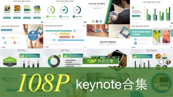 热卖合集(keynote)【扁平化】【图文混排】示例2