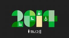 [ 润眼绿色]简美时尚扁平化商务PPT模板