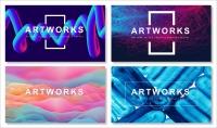 【抽象艺术】现代商务通用模板(含四套)示例2