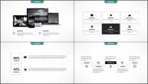 大气极简点线创意商务模板第二十六弹示例4