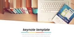 【小清新】【扁平化】【图文混排】keynote模板示例4