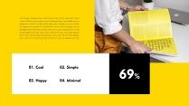 【极简主义8】上帝不小心打翻黄色的颜料盘&欧美杂志示例6