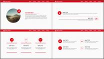 红黑网页风经典工作总结PPT模板示例4