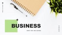 【简约商务】创意多排版多用途总结报告商务汇报模板2