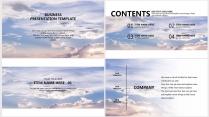 【紫气东来】极简高端大气商务工作总结年终汇报项目示例3